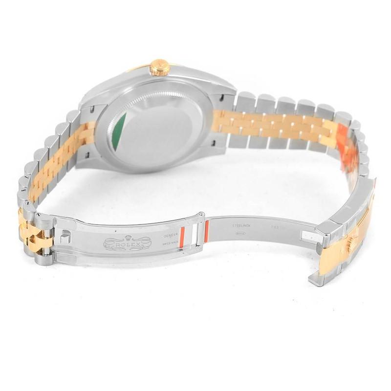 Rolex Datejust 41 Steel Yellow Gold Silver Dial Watch 126333 Unworn SwissWatchExpo