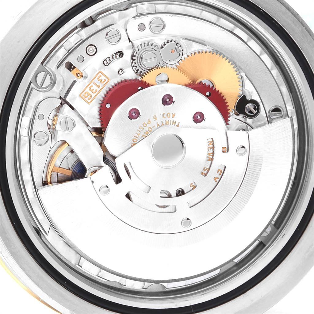 Rolex Datejust II Steel Yellow Gold Black Dial Watch 116333 Box Card SwissWatchExpo
