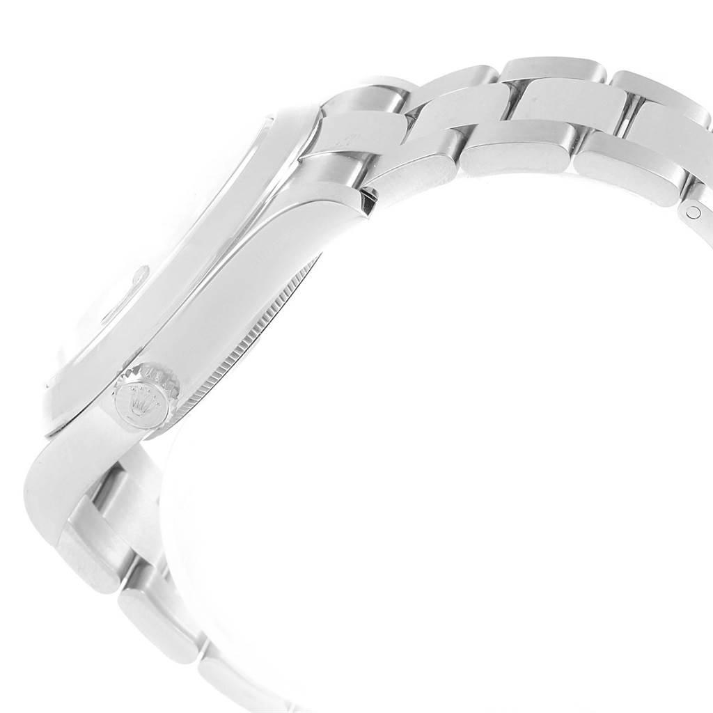 20707 Rolex Datejust II 41mm Silver Arabic Dial Mens Watch 116300 Unworn SwissWatchExpo
