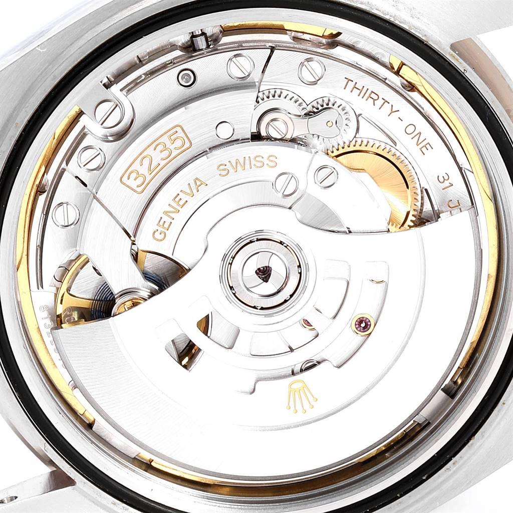 Rolex Datejust 41 Steel White Gold Diamond Mens Watch 126334 Box Card SwissWatchExpo