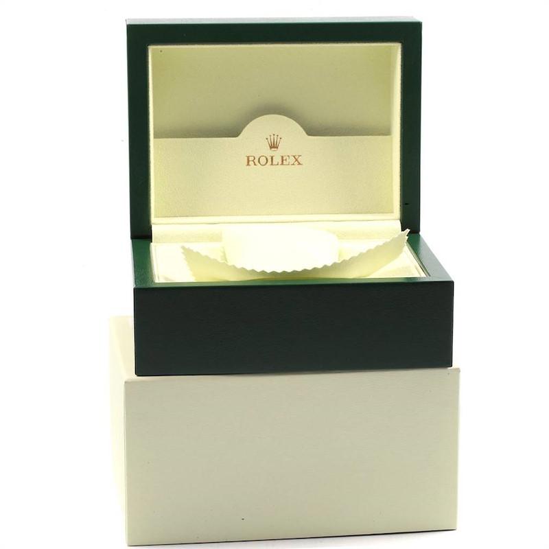 Rolex Datejust II 41mm Grey Dial Oyster Bracelet Steel Mens Watch 116300 SwissWatchExpo