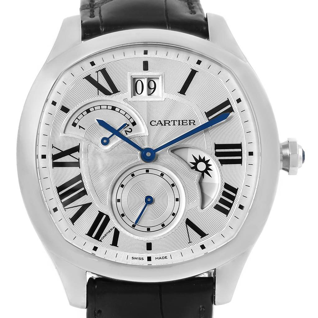15481 Cartier Drive Stainless Steel Chronograph Mens Watch WSNM0005 SwissWatchExpo
