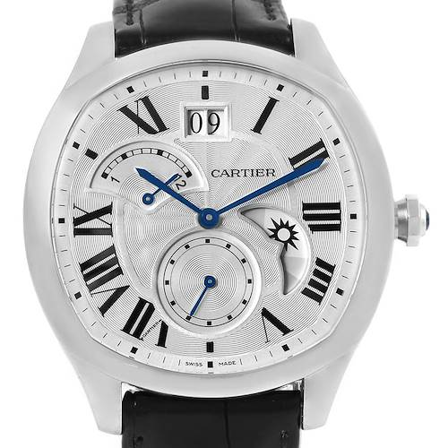 Photo of Cartier Drive Stainless Steel Chronograph Mens Watch WSNM0005