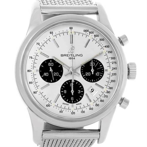 Photo of Breitling Transocean Chronograph Watch AB015212/G724-154A