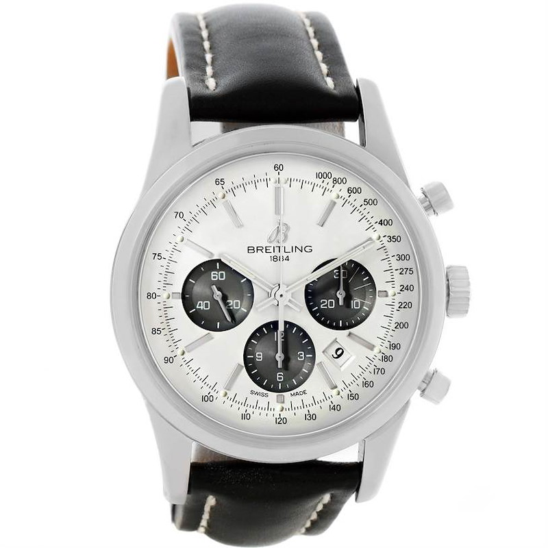 Breitling Transocean Chronograph 43mm Mens Watch AB015212/G724-1ct SwissWatchExpo