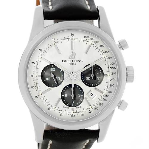 Photo of Breitling Transocean Chronograph 43mm Mens Watch AB015212/G724-1ct