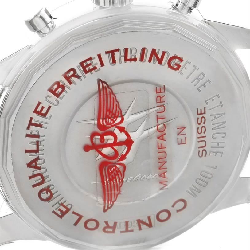 11724 Breitling Transocean Chronograph Unitime Watch AB0510U4.BB62.152A Unworn SwissWatchExpo
