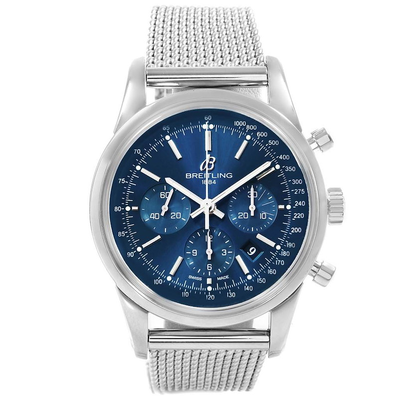 Breitling Transocean Chronograph LE Mens Watch AB0151 Box Papers SwissWatchExpo