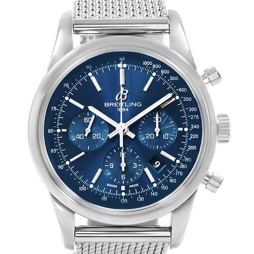 Photo of Breitling Transocean Chronograph LE Mens Watch AB0151 Box Papers