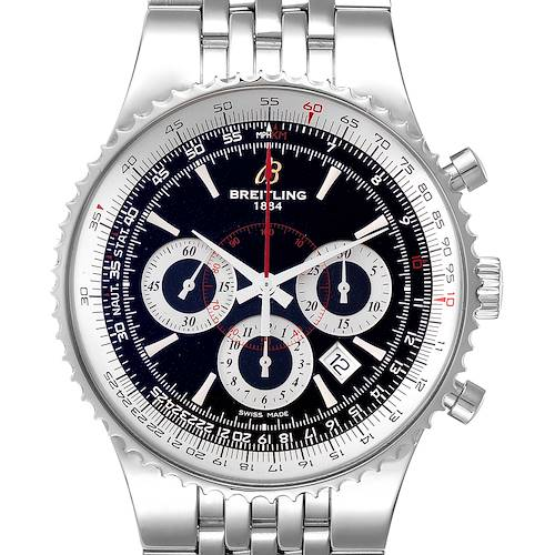 Photo of Breitling Montbrillant 47 Steel Mens Limited Edition Watch A23351