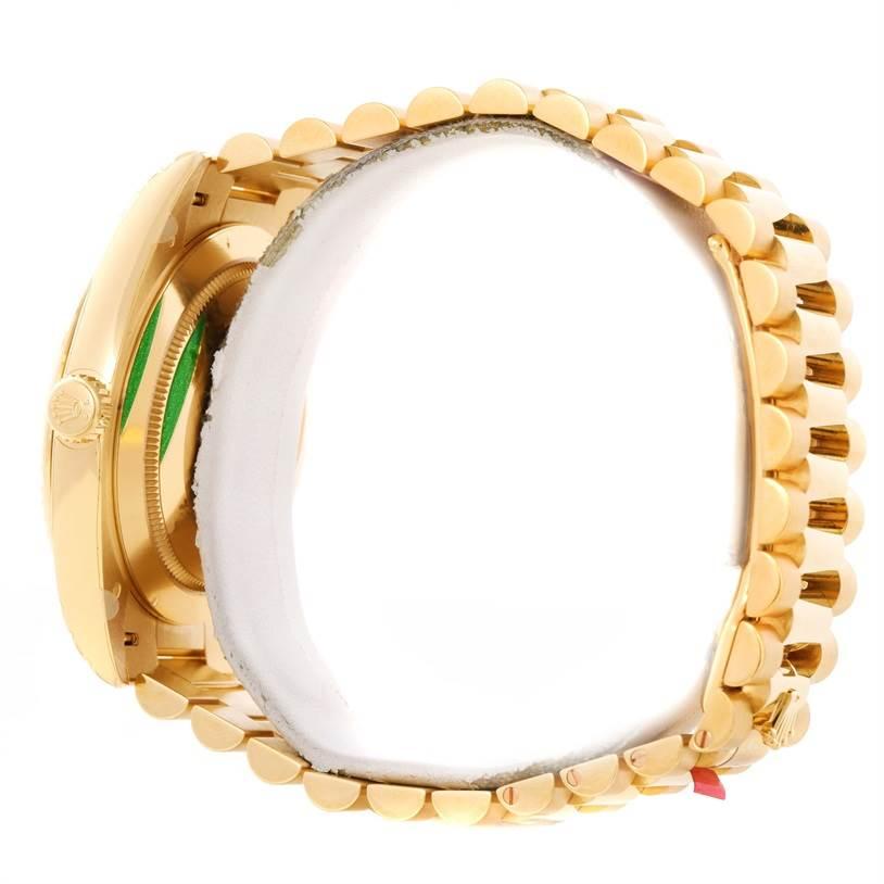 11671ET Rolex President Day-Date 40mm 18K Yellow Gold Watch 228238 Unworn SwissWatchExpo