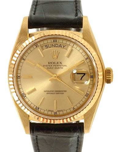 1170WR Rolex President Vintage 18k Yellow Gold Watch 18048 SwissWatchExpo