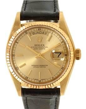 1170WR Rolex President Vintage 18k Yellow Gold Watch 18048 SwissWatchExpo