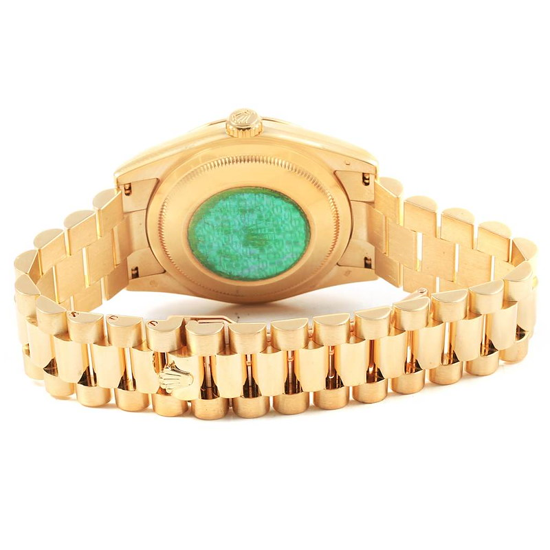 Rolex President Day-Date Yellow Gold Mens Watch 118238 Box Papers SwissWatchExpo