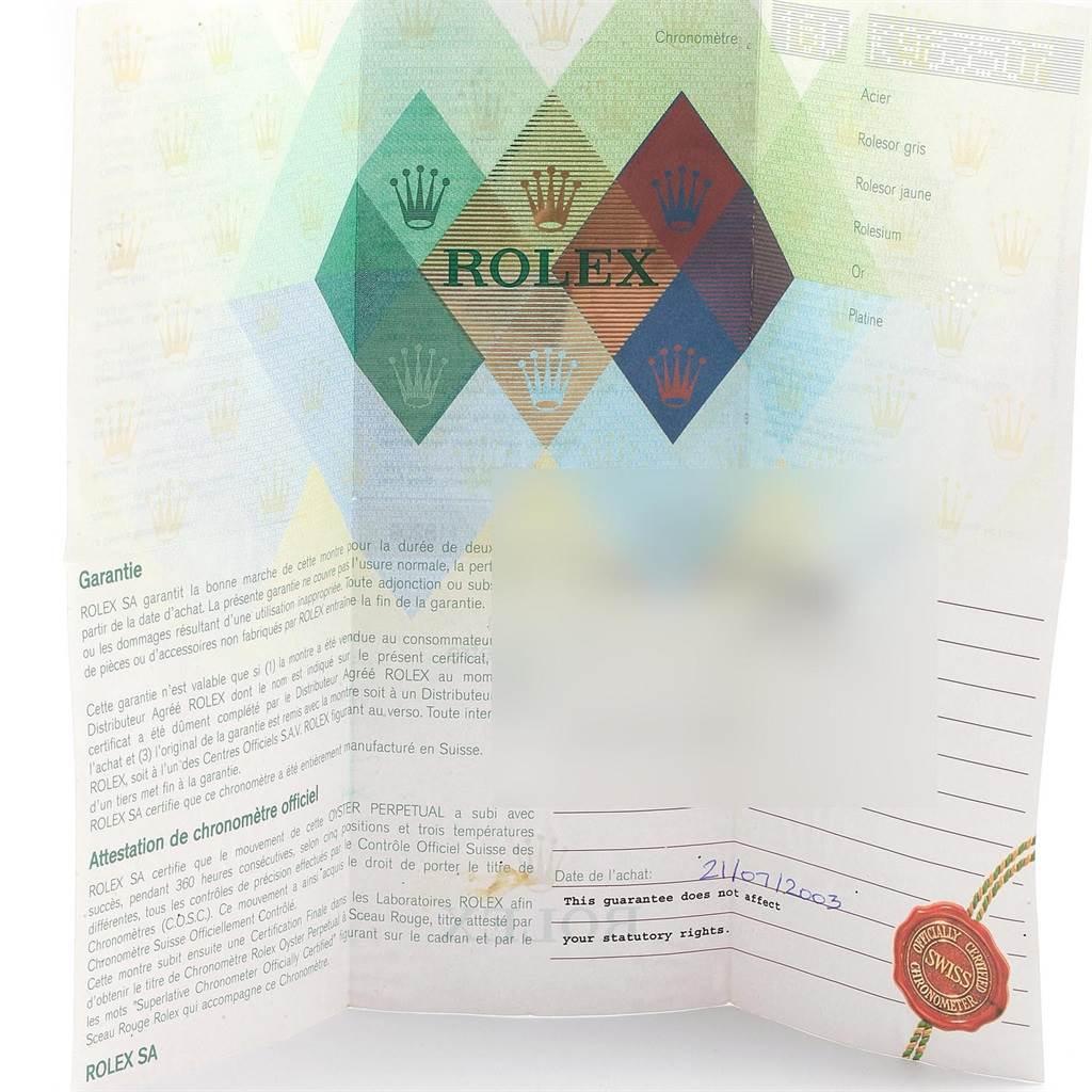 21194 Rolex President Day-Date 18k White Gold Roman Dial Mens Watch 118209 SwissWatchExpo