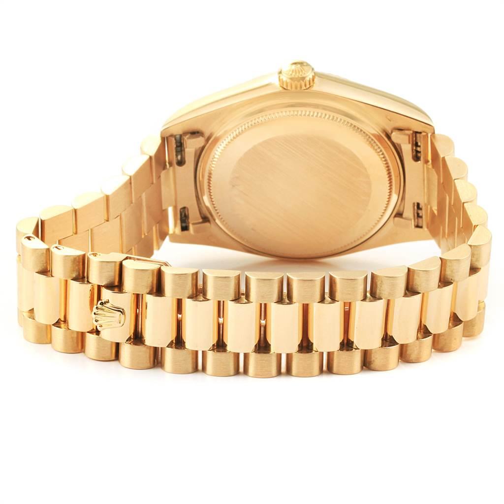 22498 Rolex President Day-Date 36mm Yellow Gold Mens Watch 18038 SwissWatchExpo
