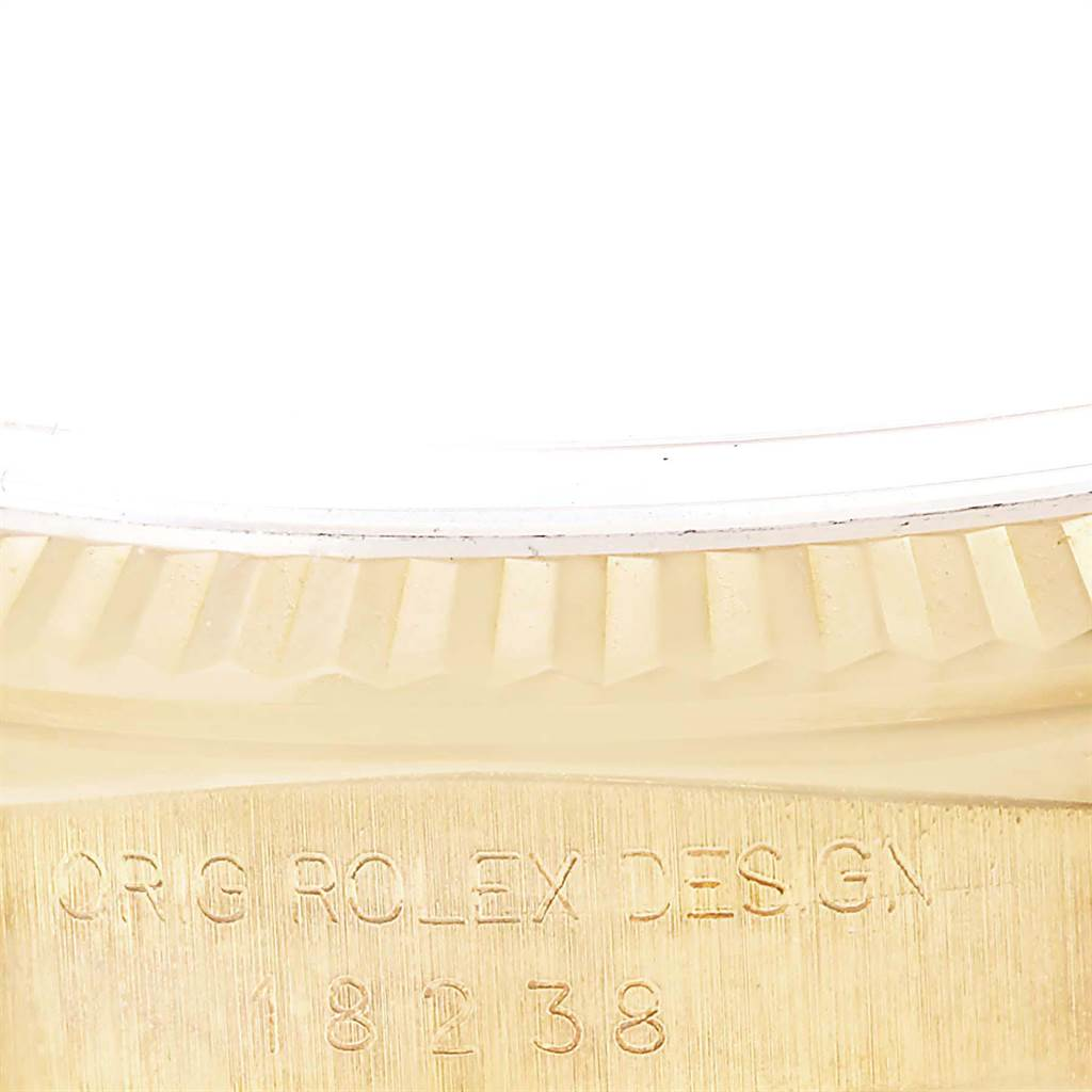 22867 Rolex President Day-Date 36 Yellow Gold Diamond Mens Watch 18238 SwissWatchExpo