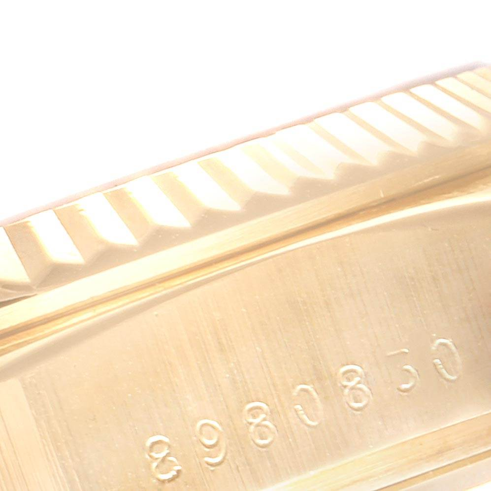 23347 Rolex President Day-Date Yellow Gold Mens Watch 18038 Box Papers SwissWatchExpo
