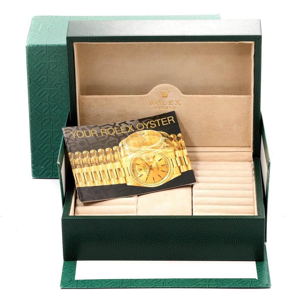 23649 Rolex President Day-Date 36mm Yellow Gold Mens Watch 18038 SwissWatchExpo