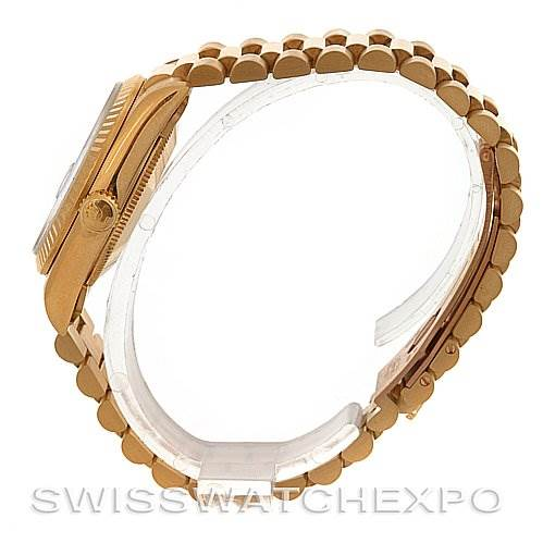 2640 Rolex President Midsize 18K Gold Mother-of-Pearl 68278 SwissWatchExpo