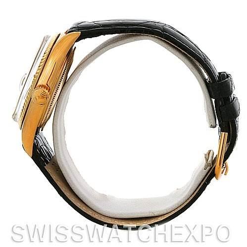 3036 Rolex President Vintage 18k Yellow Gold Watch 1803 Year 1966 SwissWatchExpo