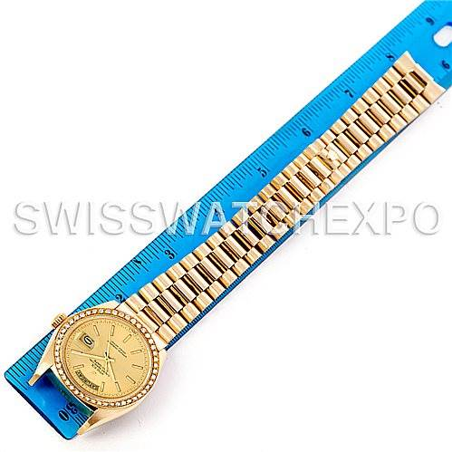 4673Pa Rolex President Mens 18k Yellow Gold Watch 18038 year 1978 SwissWatchExpo