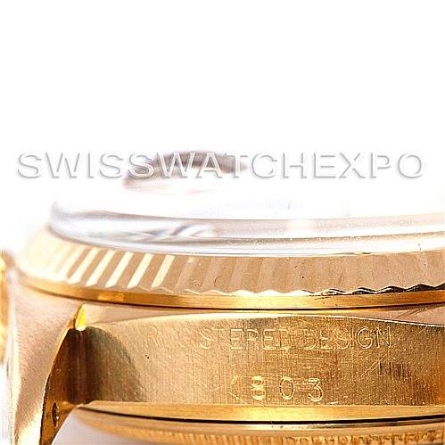5404 Rolex President Vintage 18k Yellow Gold Watch Buckley Dial 1803 SwissWatchExpo