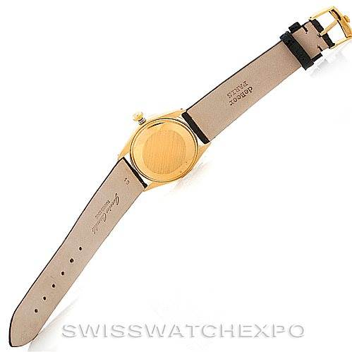 6448 Rolex Vintage Men's 14K Yellow Gold Watch 1002 SwissWatchExpo