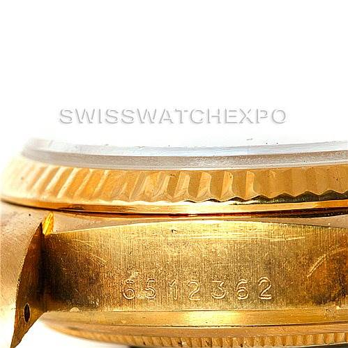 7590 Rolex President Mens 18k Yellow Gold Watch 18038 SwissWatchExpo