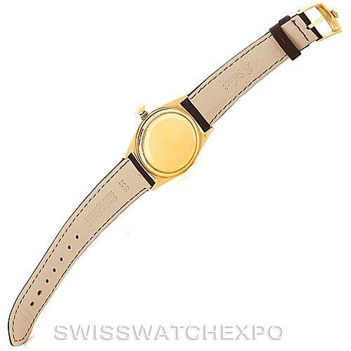 7709 Rolex President Vintage 18k Yellow Gold Watch 1803 SwissWatchExpo