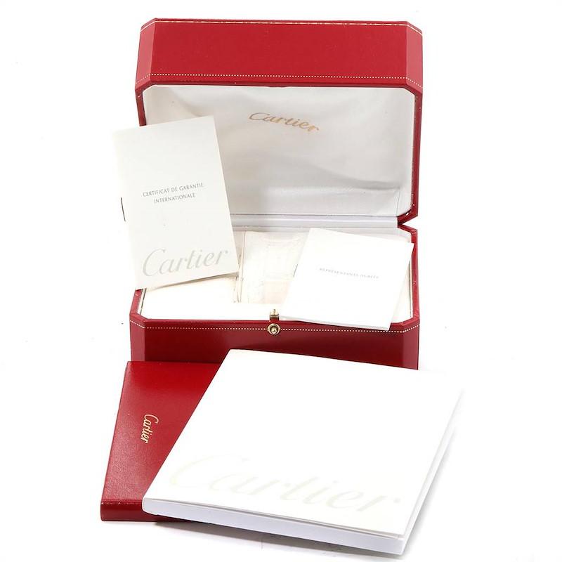 Cartier Trinity White Yellow Rose Gold Diamond Ladies Watch WG200151 SwissWatchExpo
