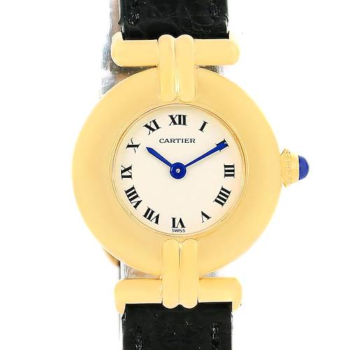 Photo of Cartier Colisee 18K Yellow Gold Quartz Round Ladies Watch