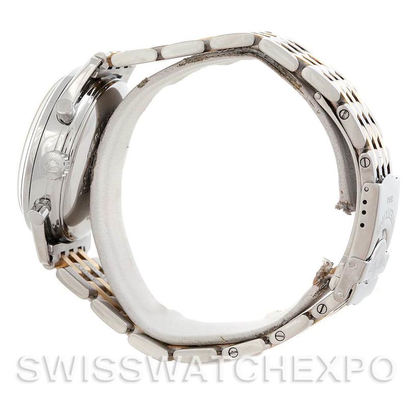 Breitling Navitimer Premier Steel 18K Yellow Gold Watch A42035 SwissWatchExpo