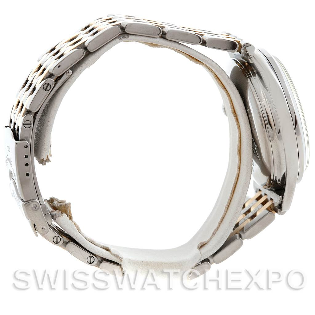 6020 Breitling Navitimer Premier Steel 18K Yellow Gold Watch A42035 SwissWatchExpo