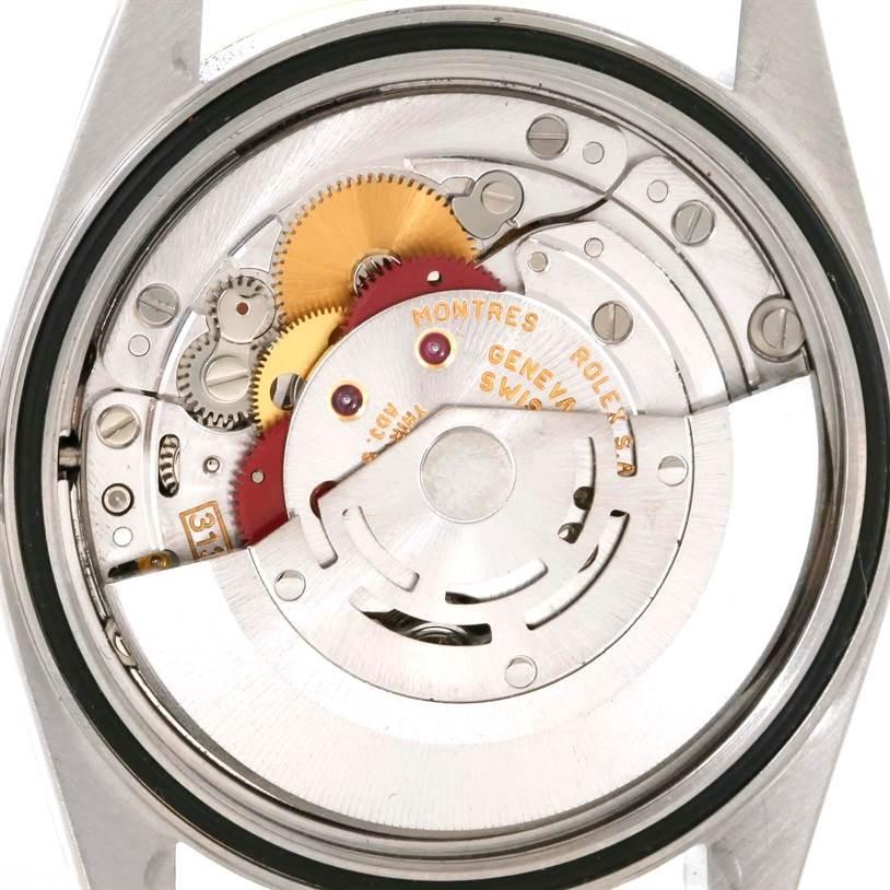 10613X Rolex Datejust Steel 18K Yellow Gold Automatic Watch 16233 SwissWatchExpo