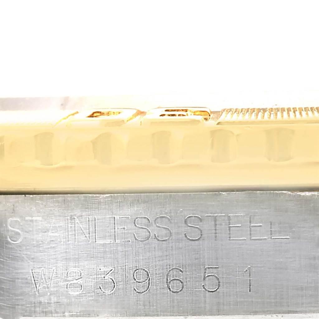 Rolex Datejust Turnograph Steel Yellow Gold Blue Dial Watch 16263 SwissWatchExpo