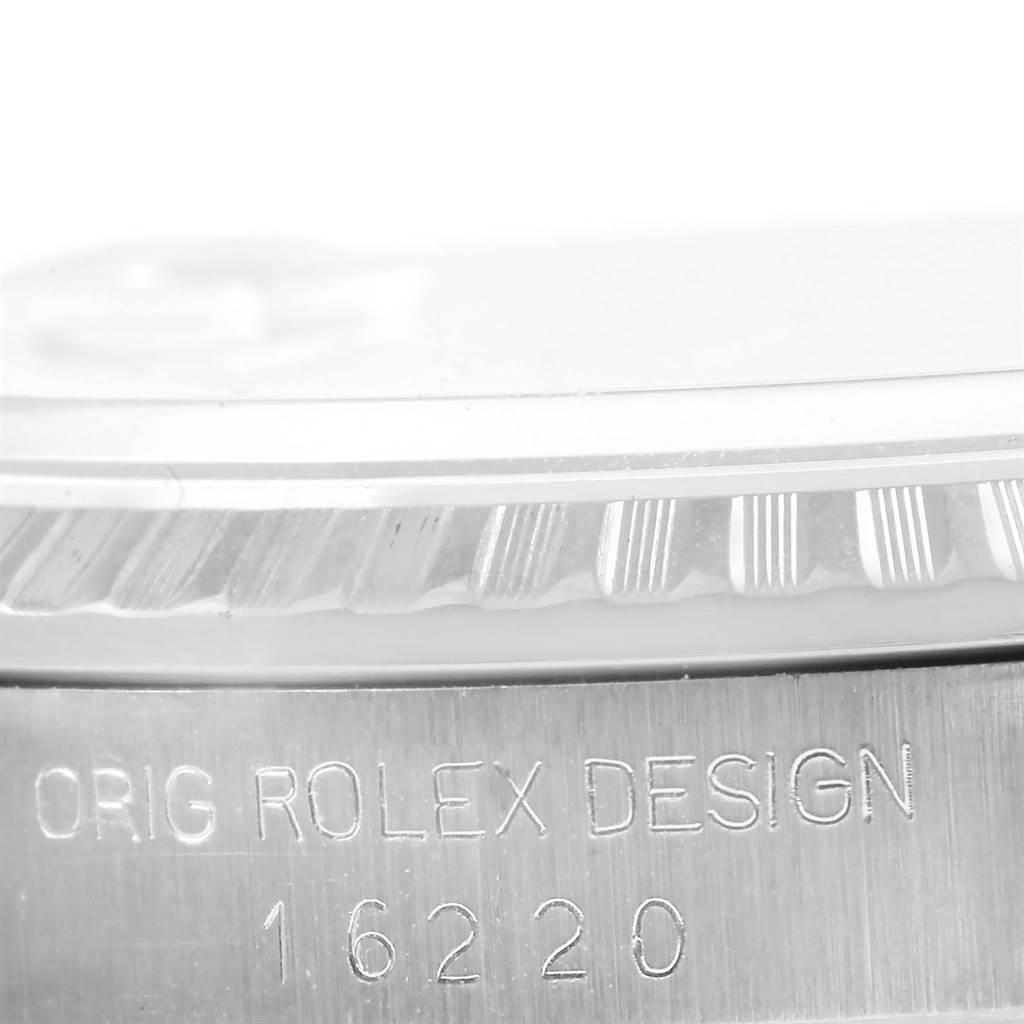 14320 Rolex Datejust Silver Dial Oyster Bracelet Steel Mens Watch 16220 SwissWatchExpo