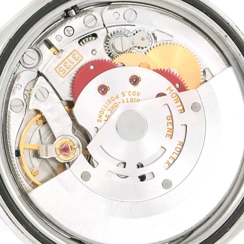 Rolex Datejust 36 White Dial Oyster Bracelet Steel Mens Watch 16220 SwissWatchExpo
