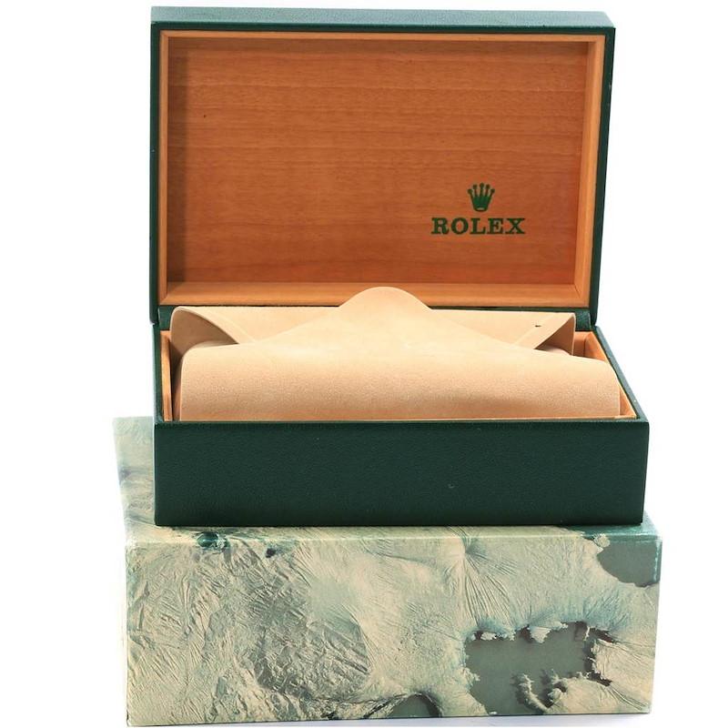 Rolex Datejust 36 Steel Yellow Gold White Dial Mens Watch 16233 SwissWatchExpo