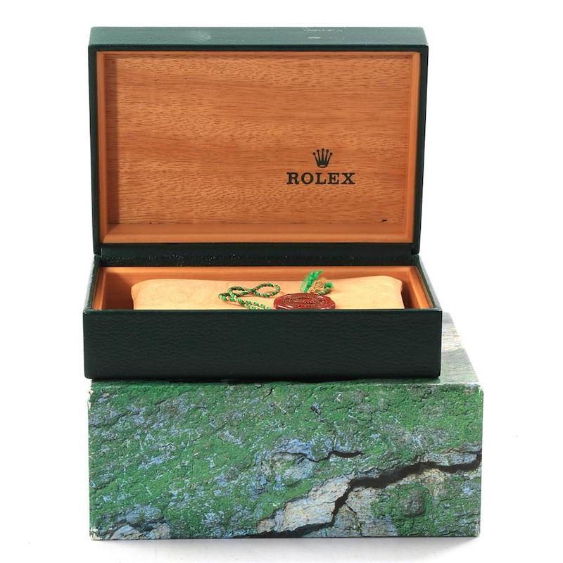 Rolex Datejust 36 Steel Yellow Gold Slate Roman Dial Mens Watch 16233 SwissWatchExpo
