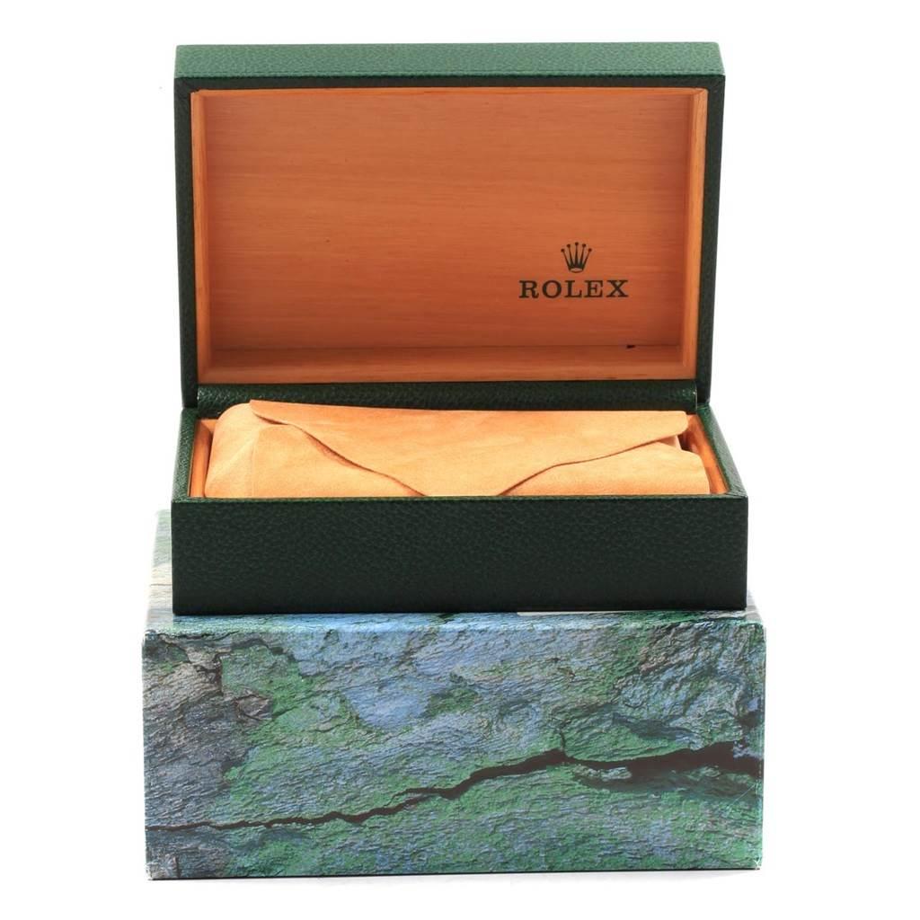 Rolex Datejust 36 Steel 18K Yellow Gold Mens Watch 16233 SwissWatchExpo