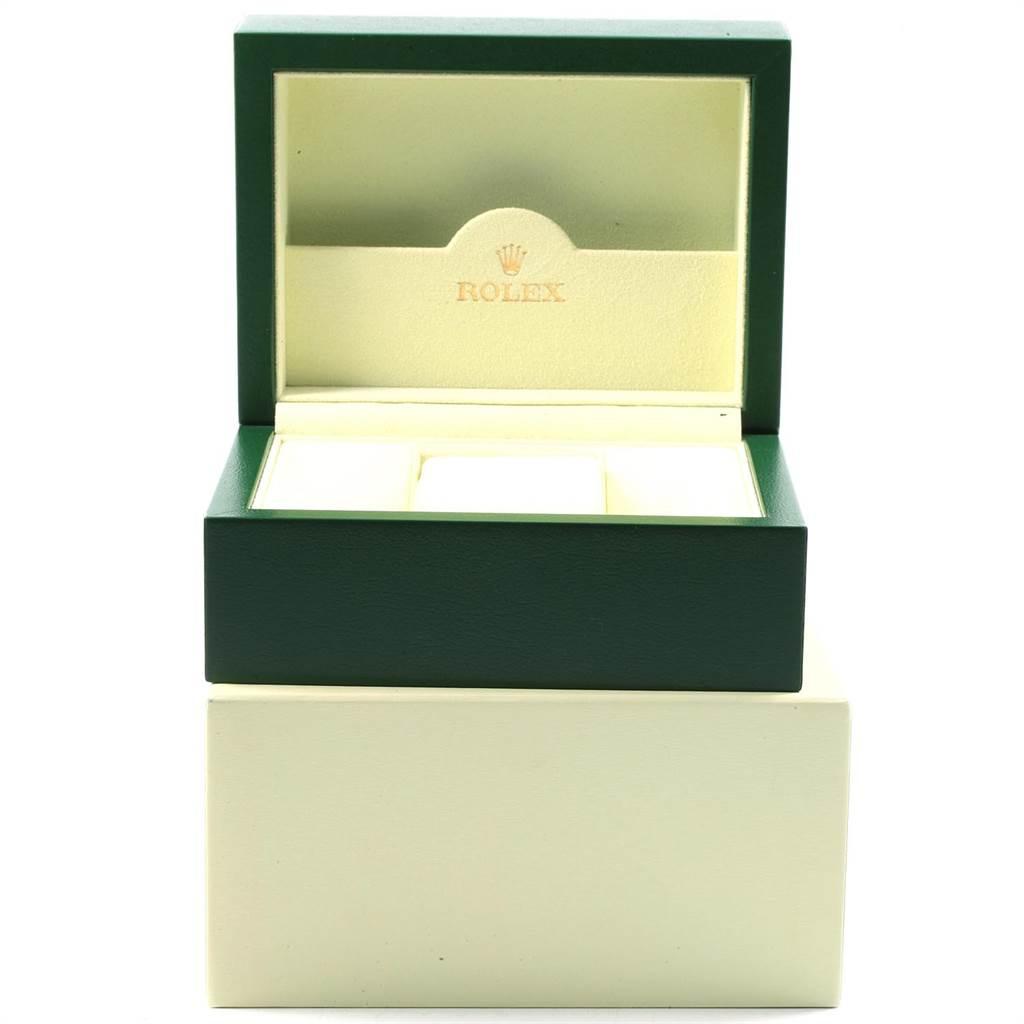 19879 Rolex Datejust Steel Yellow Gold White Diamond Dial Mens Watch 116233 SwissWatchExpo