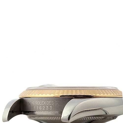 Rolex Mens Datejust Steel 18K Yellow Gold 116233 Year 2005 SwissWatchExpo