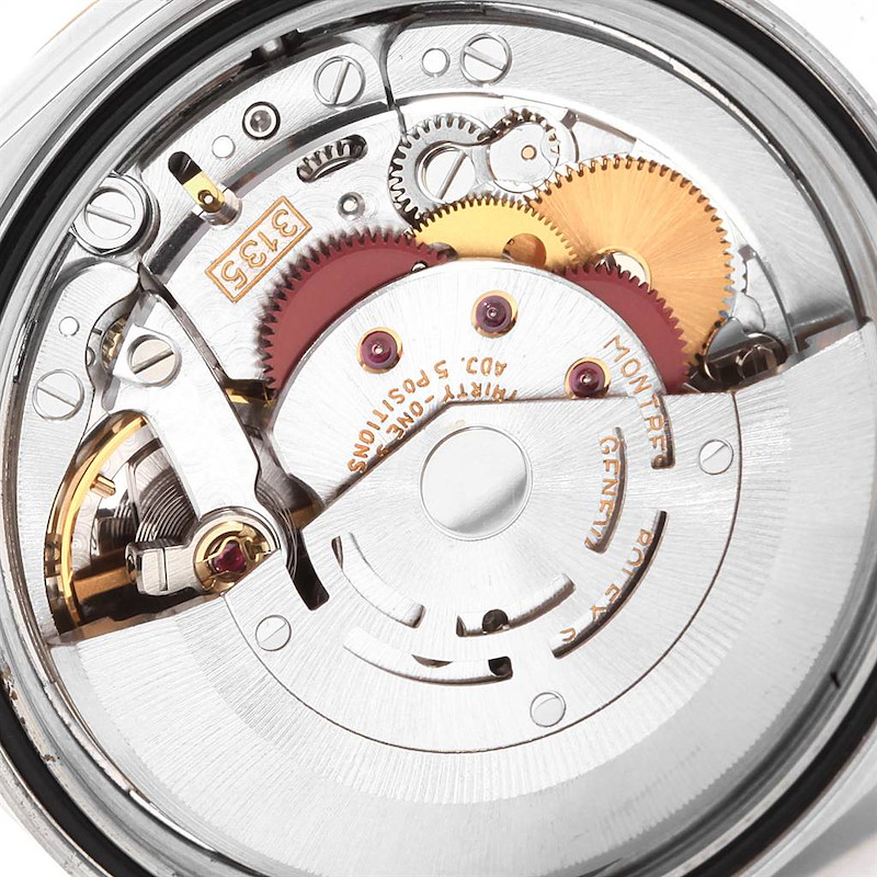 Rolex Datejust Stainless Steel Yellow Gold Mens Watch 16233 Box SwissWatchExpo