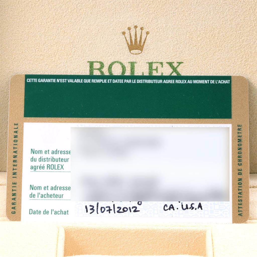 Rolex Datejust 36 Silver Diamond Dial Bezel Unisex Watch 116244 Box Card SwissWatchExpo