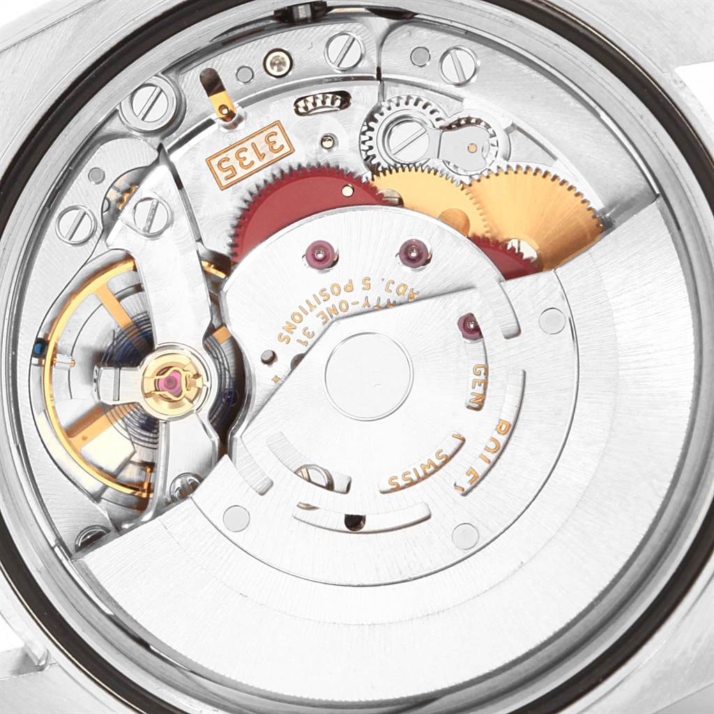 20912 Rolex Datejust Steel Yellow Gold Black Diamond Dial Mens Watch 116233 SwissWatchExpo