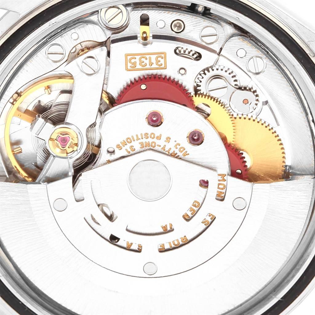 20800 Rolex Datejust Steel White Gold Anniversary Arabic Dial Watch 16234 SwissWatchExpo