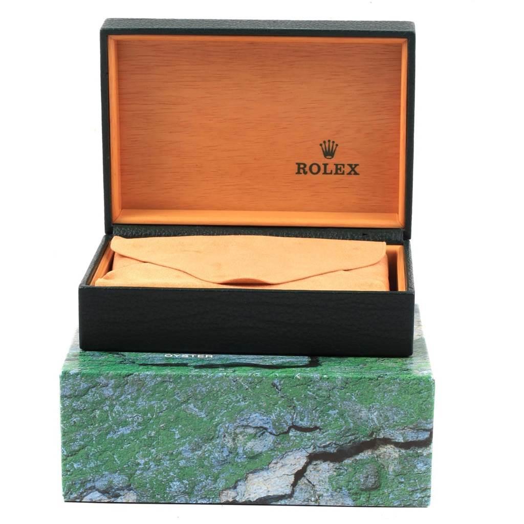 Rolex Datejust 36 Silver Dial Oyster Bracelet Steel Mens Watch 16200 SwissWatchExpo