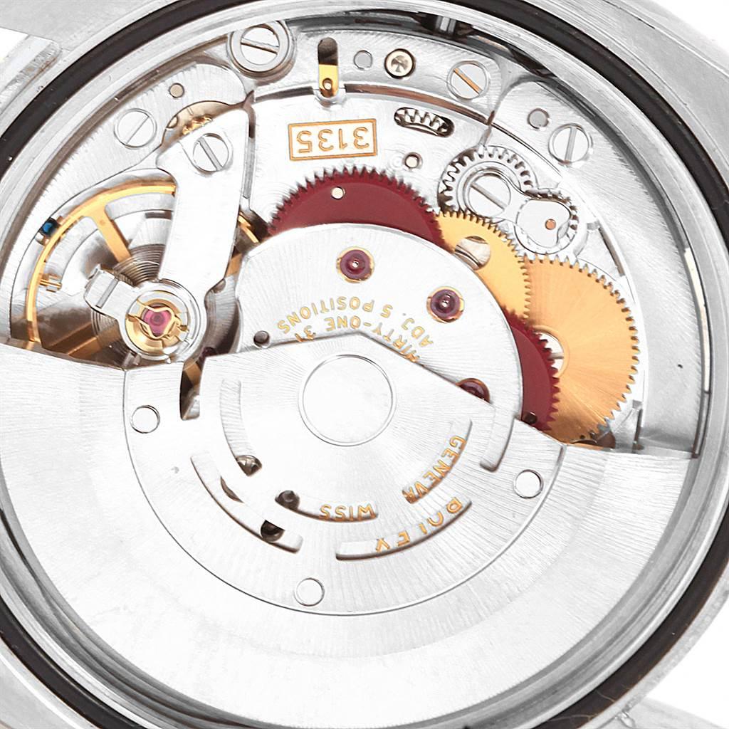 Rolex Datejust Steel Yellow Gold White Diamond Dial Mens Watch 116233 SwissWatchExpo