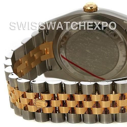 Rolex Datejust  Mens Ss 18k Yellow Gold 116233 Yr 2011 SwissWatchExpo